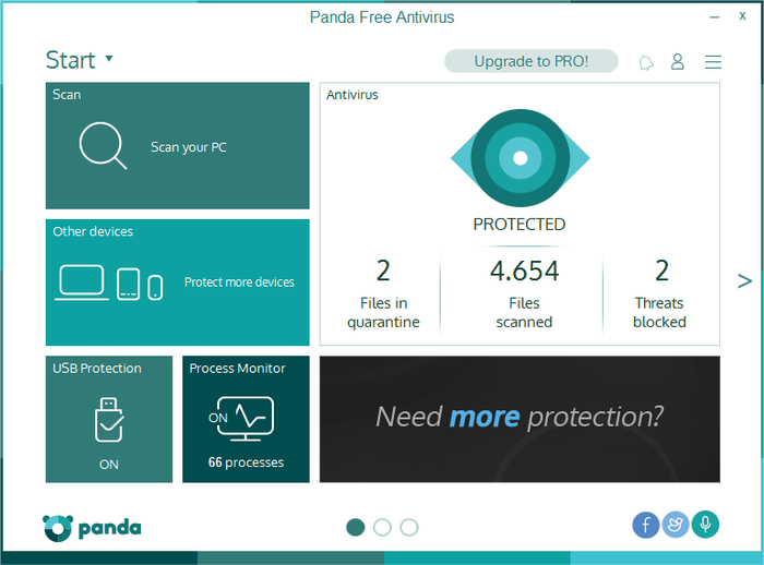 Screenshot 2 of Panda Free Antivirus