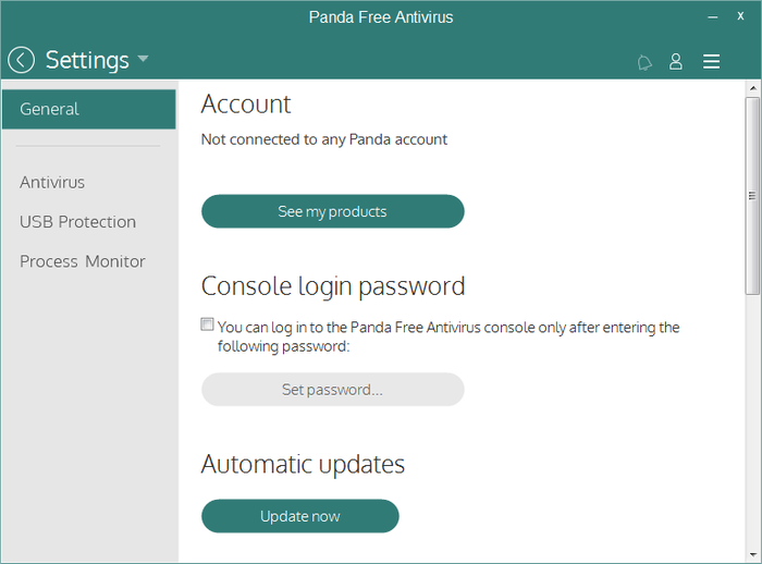 Screenshot 5 of Panda Free Antivirus