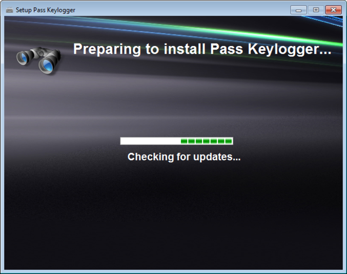 Screenshot 1 of Pass Keylogger