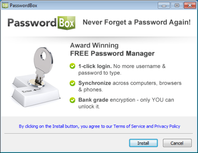 Screenshot 3 of PasswordBox