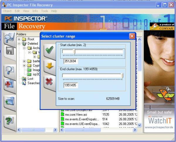 Articles » recovery » hard drive data recovery using pc inspector.