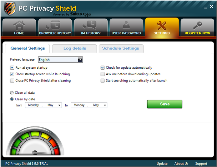 Screenshot 9 of PC Privacy Shield