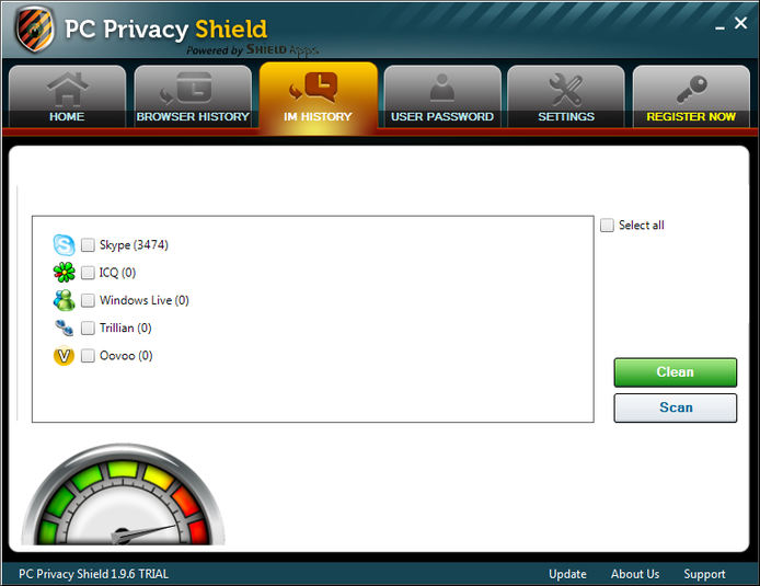 Screenshot 3 of PC Privacy Shield