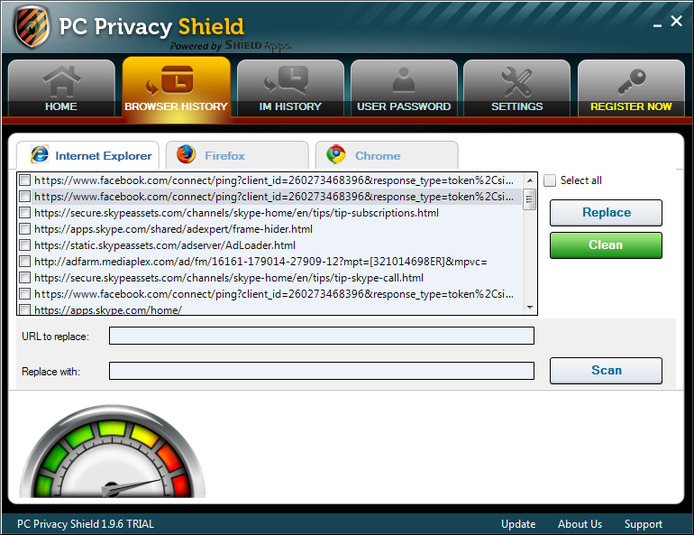 Screenshot 10 of PC Privacy Shield