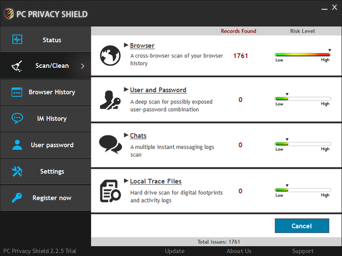 Screenshot 6 of PC Privacy Shield
