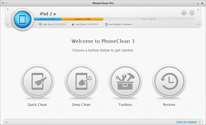 Screenshot 2 of PhoneClean
