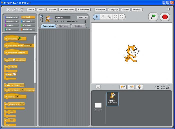 Screenshot 2 of Portable Scratch