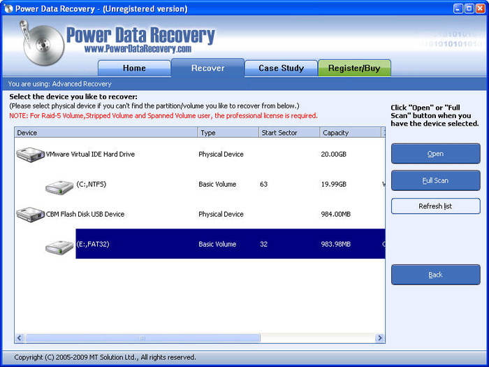 minitool power data recovery 6.5.0.1 software free download