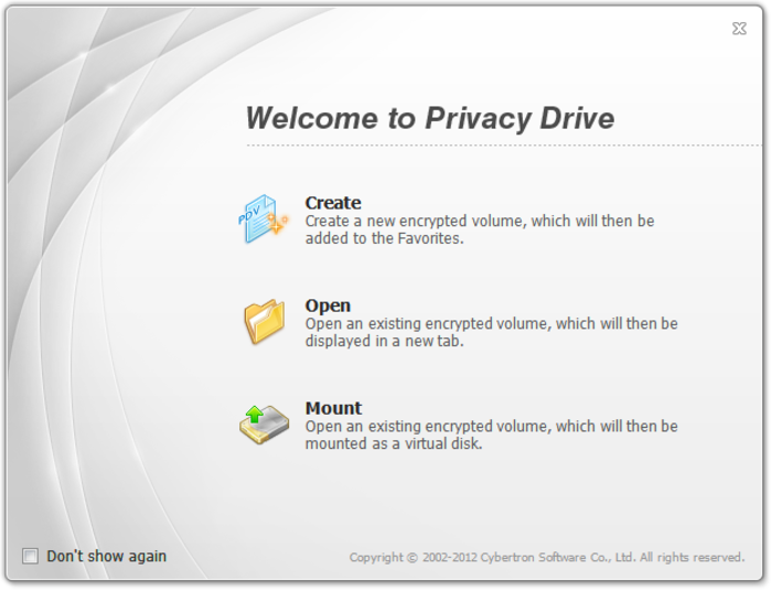 Screenshot 4 of Privacy Drive Portable
