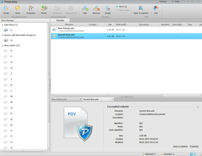 Screenshot 8 of Privacy Drive