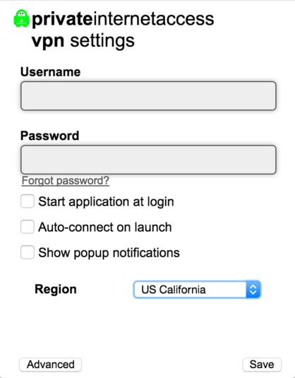 Screenshot 3 of Private Internet Access