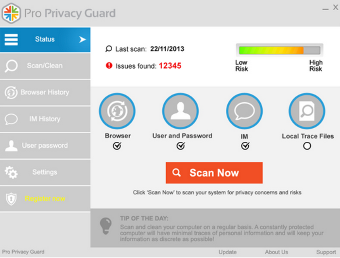 Screenshot 1 of Pro Privacy Guard