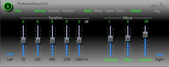 Sound equalizer for windows 7.