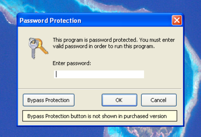 Screenshot 4 of Program Protector