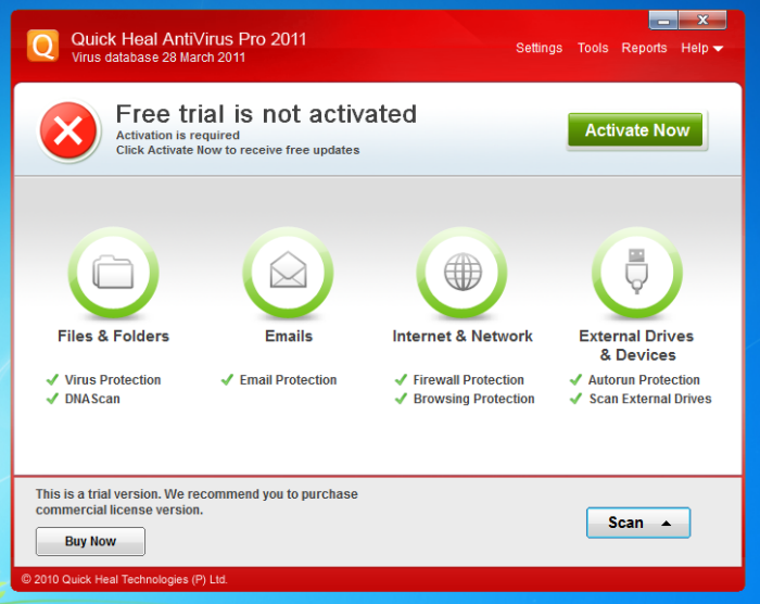 Download and install | quick heal total security | free (2018.
