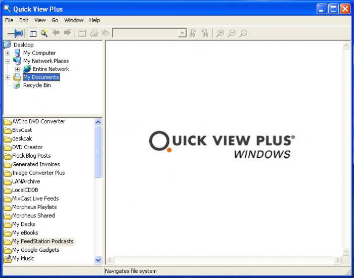 Download Quick View Plus free — NetworkIce com