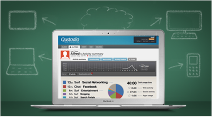 Screenshot 3 of Qustodio Professional