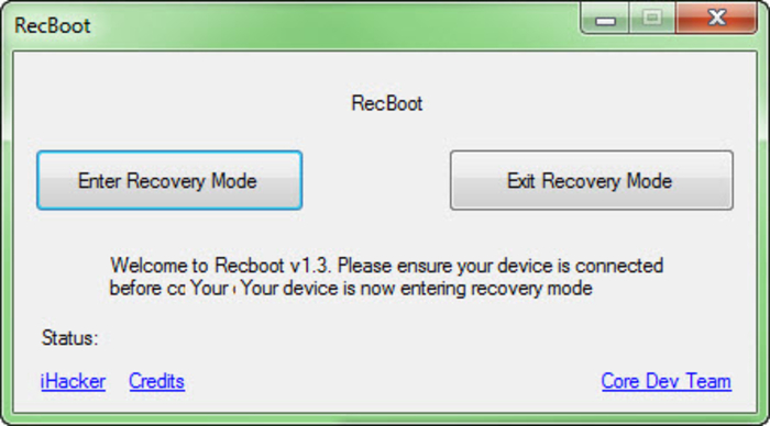 Screenshot 2 of RecBoot