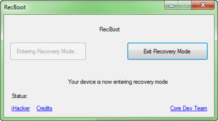 Screenshot 3 of RecBoot