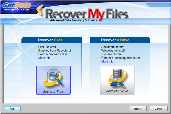 Screenshot 4 of Recover My Files