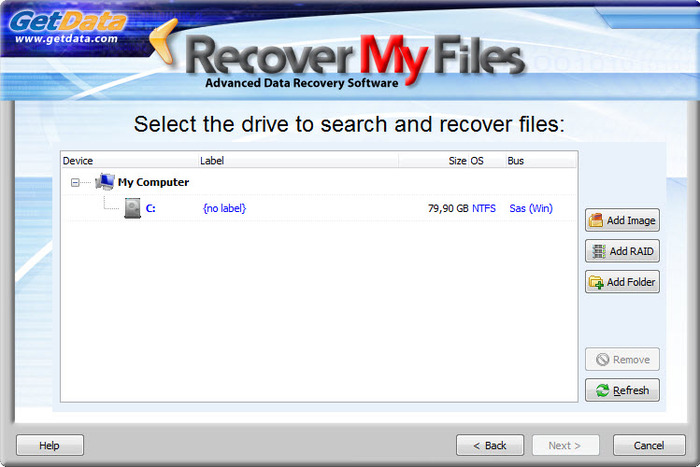 Screenshot 2 of Recover My Files