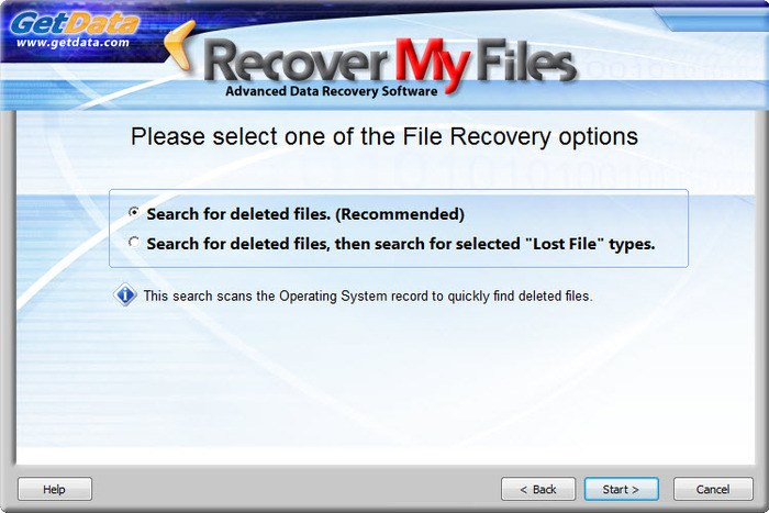 Screenshot 7 of Recover My Files