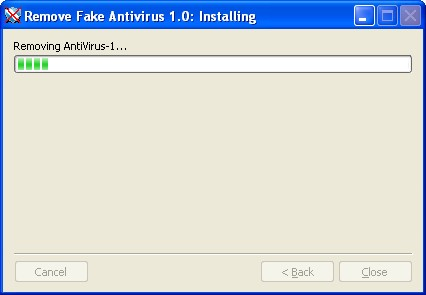 Screenshot 2 of Remove Fake Antivirus