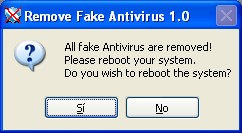 Screenshot 1 of Remove Fake Antivirus