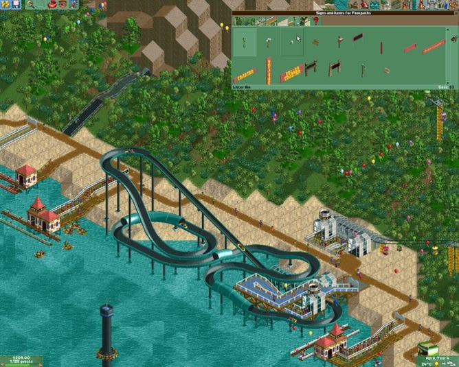 Download Roller Coaster Tycoon 2: Triple Thrill Pack free