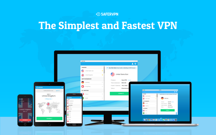 Screenshot 2 of SaferVPN
