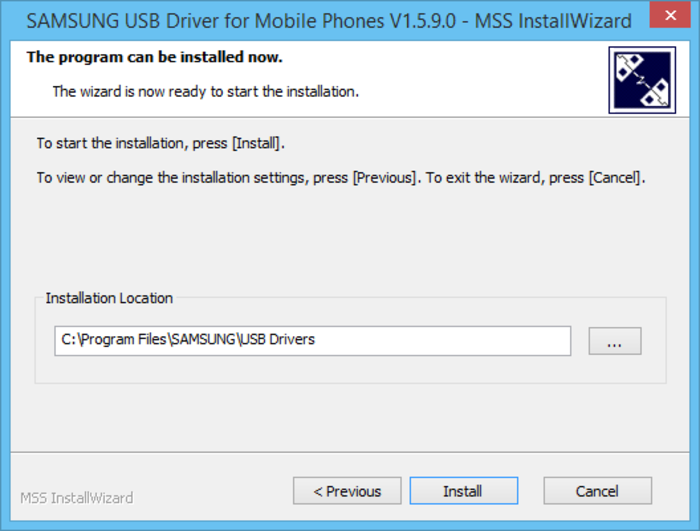 Screenshot 4 of Samsung USB Driver for Mobile Phones