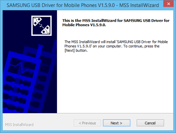 Screenshot 3 of Samsung USB Driver for Mobile Phones
