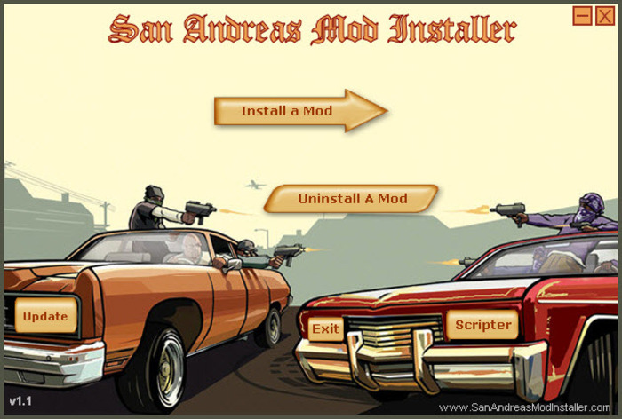 Screenshot 3 of San Andreas Mod Installer