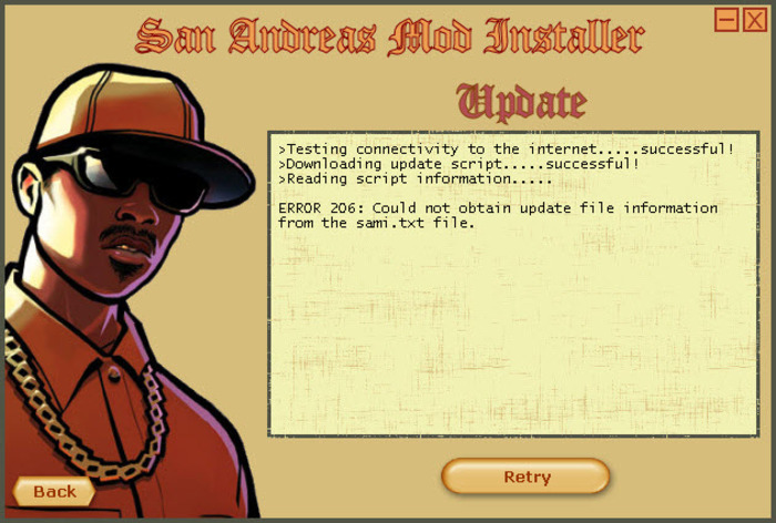 Screenshot 4 of San Andreas Mod Installer