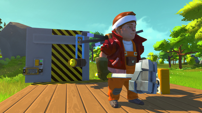Screenshot 8 of Scrap Mechanic