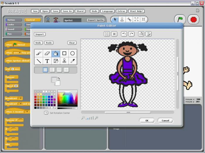 Screenshot 1 of Scratch 2 Offline Editor