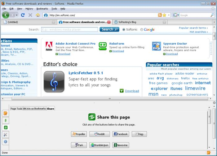 Screenshot 2 of ScribeFire
