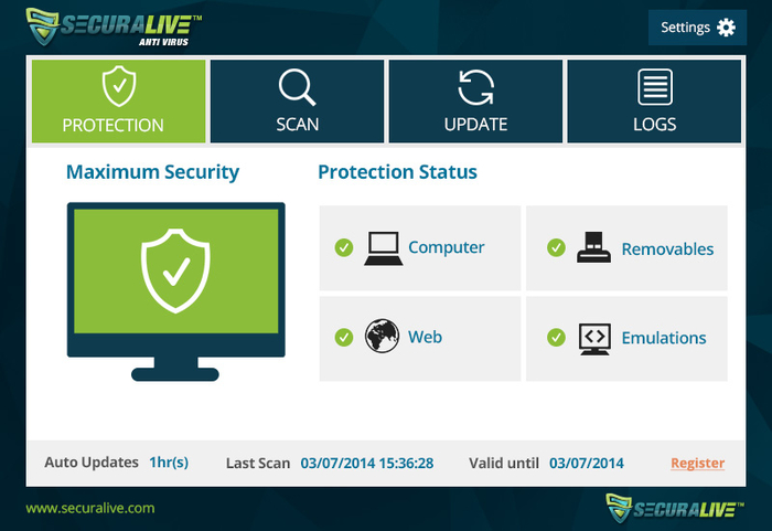 Download only the best free antivirus for windows 7 in 2014.