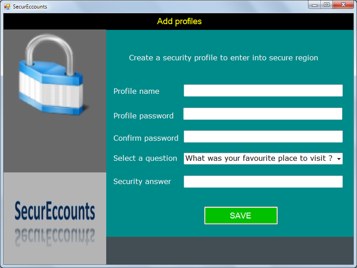 Screenshot 3 of SecurEccounts