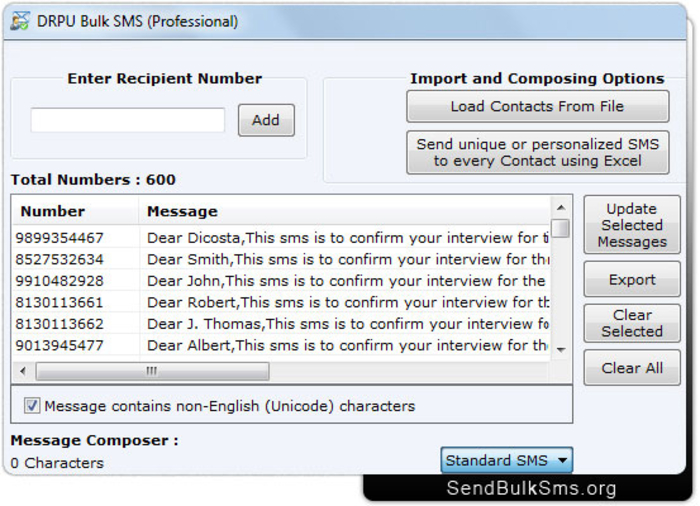 free sms software download for pc