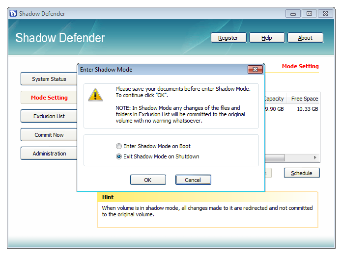 Screenshot 4 of Shadow Defender
