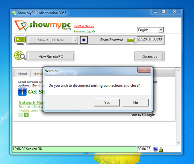 Screenshot 2 of ShowMyPC