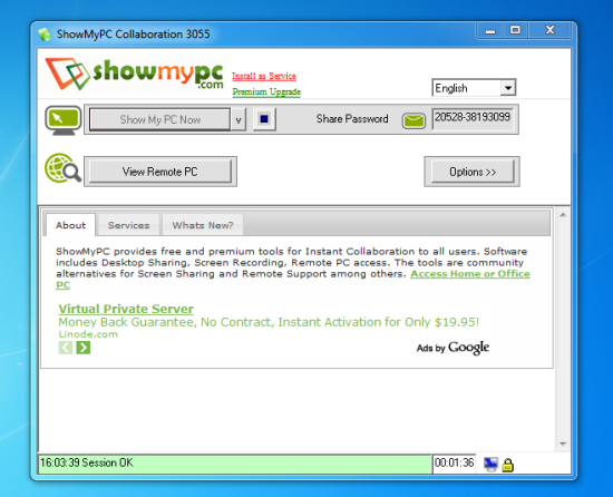 Screenshot 1 of ShowMyPC