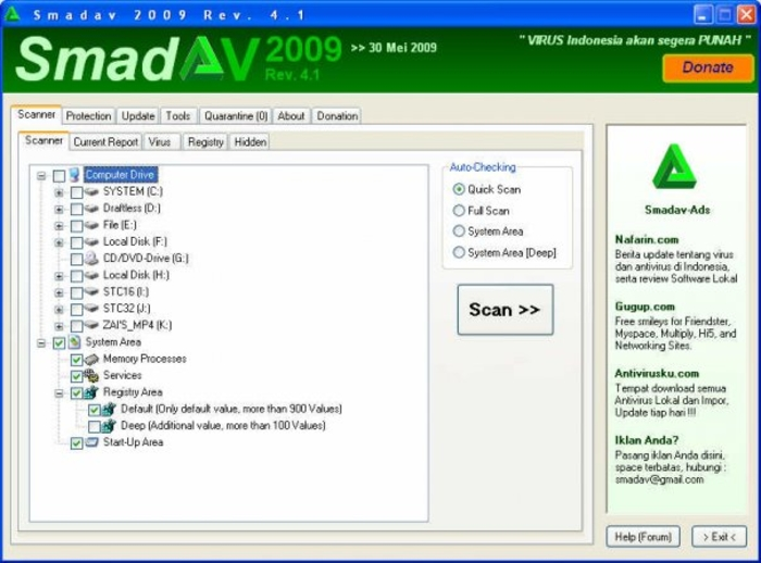Screenshot 2 of Smadav Antivirus 2016