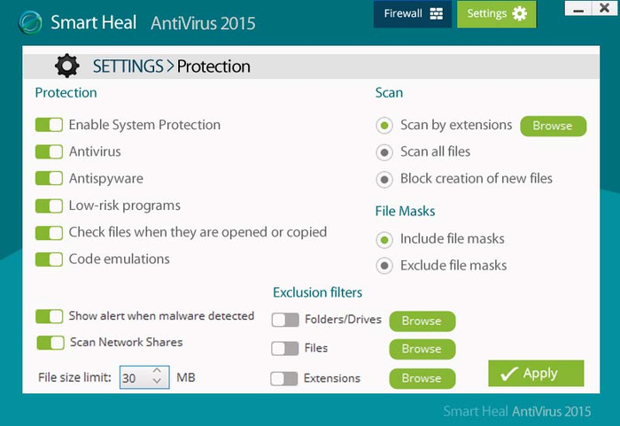 Screenshot 4 of Smart heal Total security