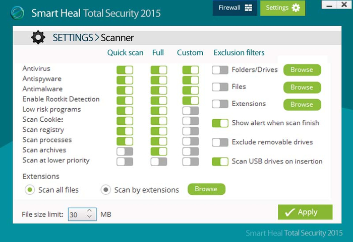 Screenshot 6 of Smart heal Total security