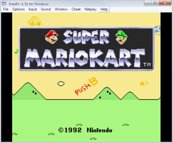 Screenshot 1 of Snes9x