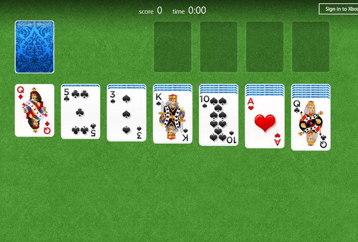 Screenshot 3 of Solitaire for Windows 10