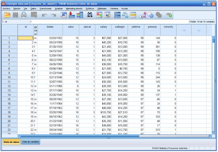 Screenshot 6 of SPSS