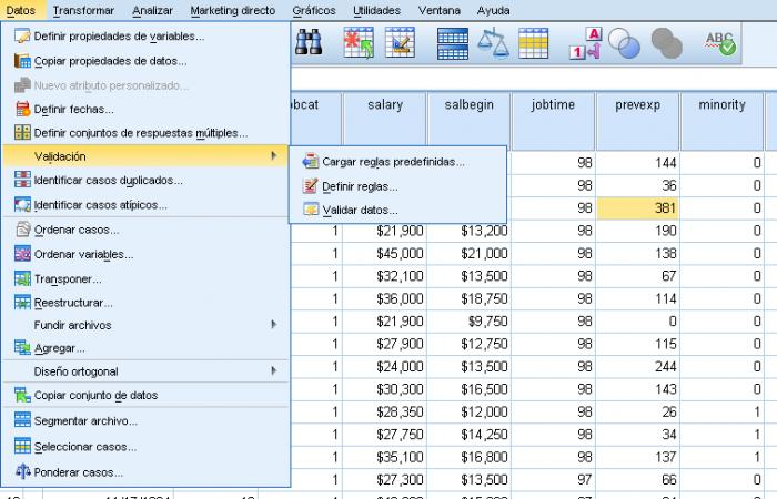 Screenshot 9 of SPSS